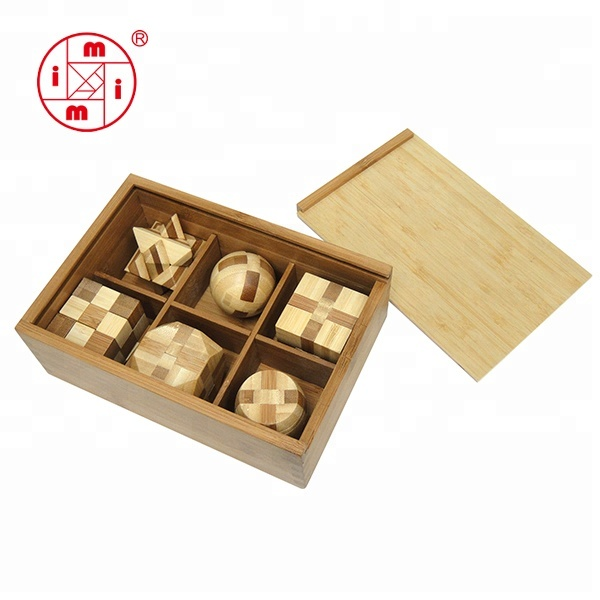 BAMBOO PUZZLE 6 IN 1complicated)