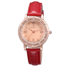 Hot Selling New Design Trendy PU Leather Band Wholesale Cheap Watch for Girls