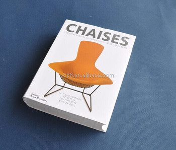 Flexible Binding chairs Softcover Book Printing