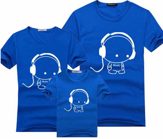 100 cotton men t shirts women hot sale digital t-shirt printer design  family matching 2f387337c