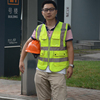 wholesale high quality 360 degree reflective construction safety vest with pockets