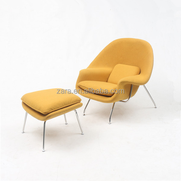 Muebles de dise o eero saarinen silla womb replica modern for Replicas muebles diseno