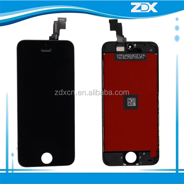 OEM new mobile phone lcd screen for iphone 5c,smart phone touch screen for iphone 5c gelmatic