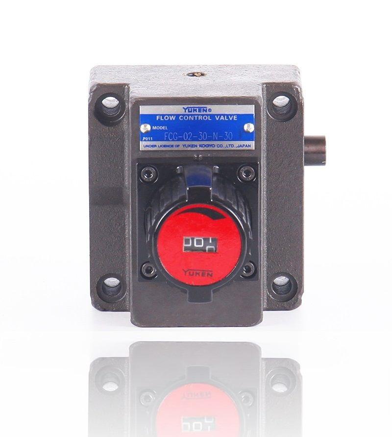 FKCG 02 Yuken type hydraulic high pressure mechanical flow control adjustable industrial valve