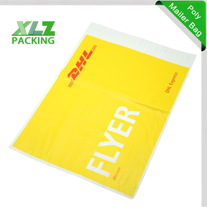 DHL Express Delivery Bag With Pouch For DHL EMS Express Delivery Envelope  with Pockets