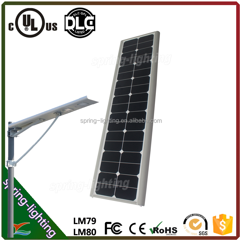 intergrated solar led street light item all in one design 60w solar integrated street light