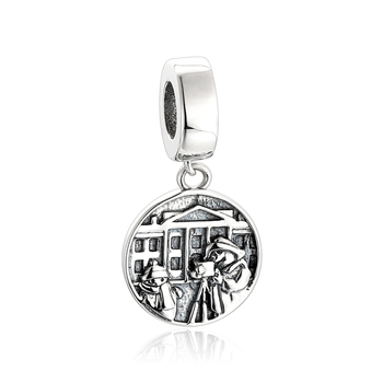 925 sterling silver jewelry european engraving faceted charm 925 sterling silver jewelry european engraving faceted charm pendants mozeypictures Image collections