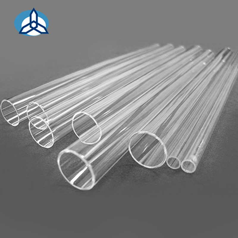 High transmission performance quartz glass tube used to quartz tube for tube furnace