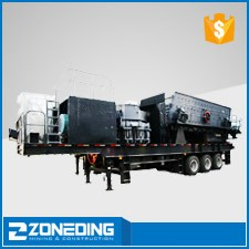 New design rock mobile portable rock crusher plant for sale