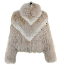 Chinese fur supplier wholesale women colorful best selling fox fur coat