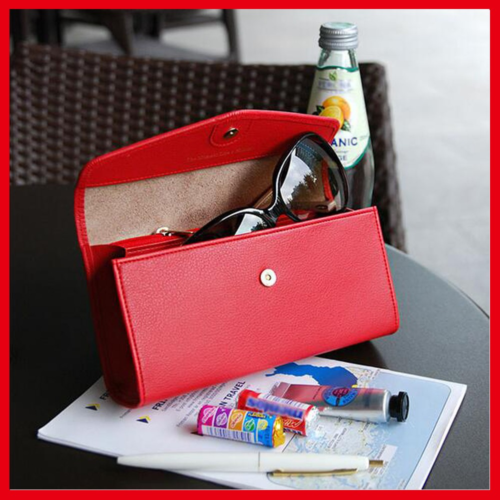 2017 Popular Eyewear Case , Custom Leather Case For Glasses With Favorable Price