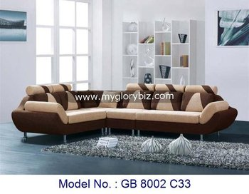 contemporary wood sofa. Modern Design L Shape Sofas Living Room Furniture, Fabric Wooden Contemporary Sets, Double Wood Sofa