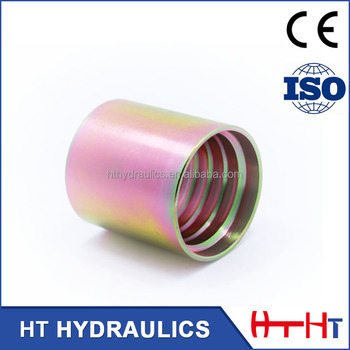 Free Samples High Quality Hose Ferrule Fittings for 4SP 4SH