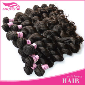 AAA quality steam processed machine made weft india hair weaving