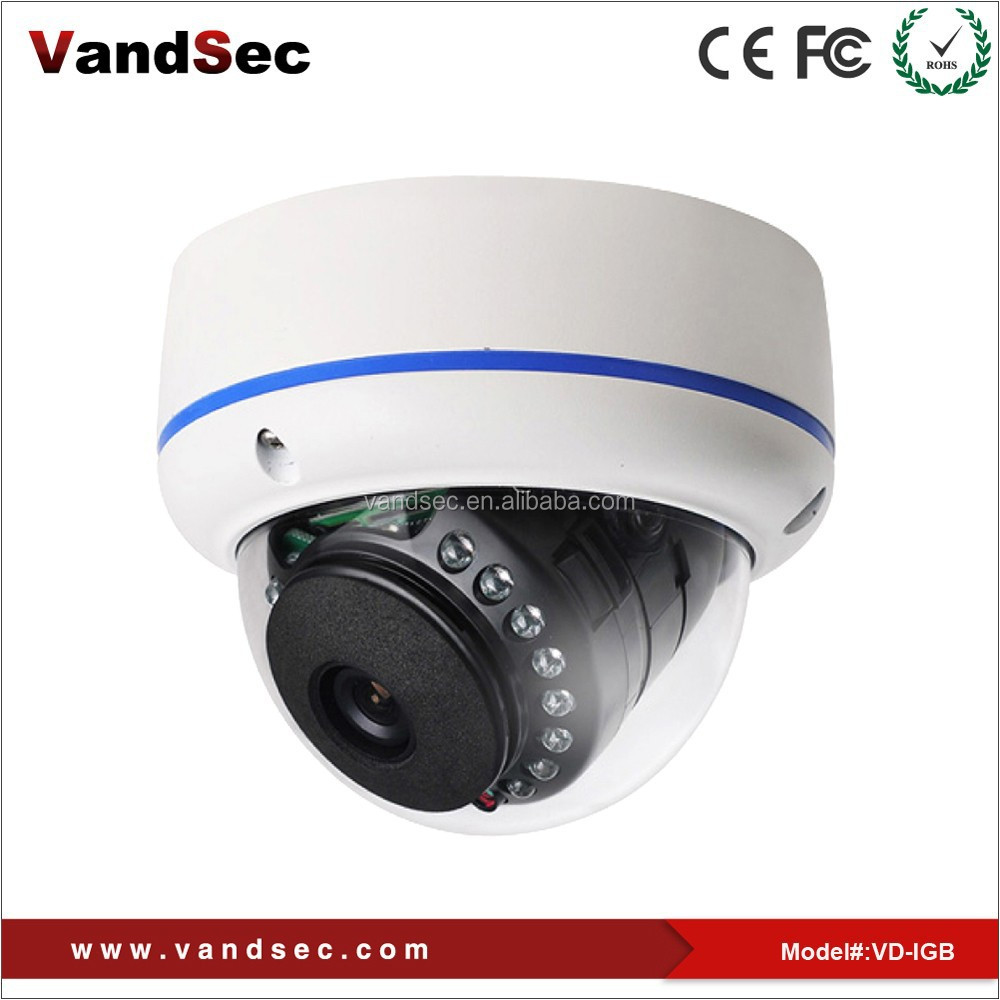 IR LED Sony 2.0MP Vandal-proof AHD CCTV Dome Camera Support Iphone & Android App CCTV camera system