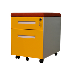 Customized moving Pedestal Cabinet mobile phone display cabinet home office storage cabinet