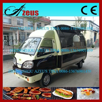 Mobile Kitchen Truck/fast Food Van For Sale - Buy Fast Food Van For ...