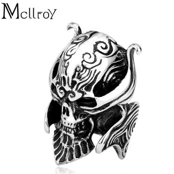 Mcllroy Yiwu Markt Modeschmuck Edelstahl Vintage Monster Neue Design
