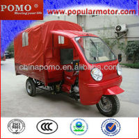 2013 Popular Hot Selling Cargo Enclosed 300cc 3 Wheel Motorcycle With Roof