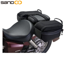 Classic Outdoor Waterproof Motorcycle Saddle Bags, Motorcycle Side Bags