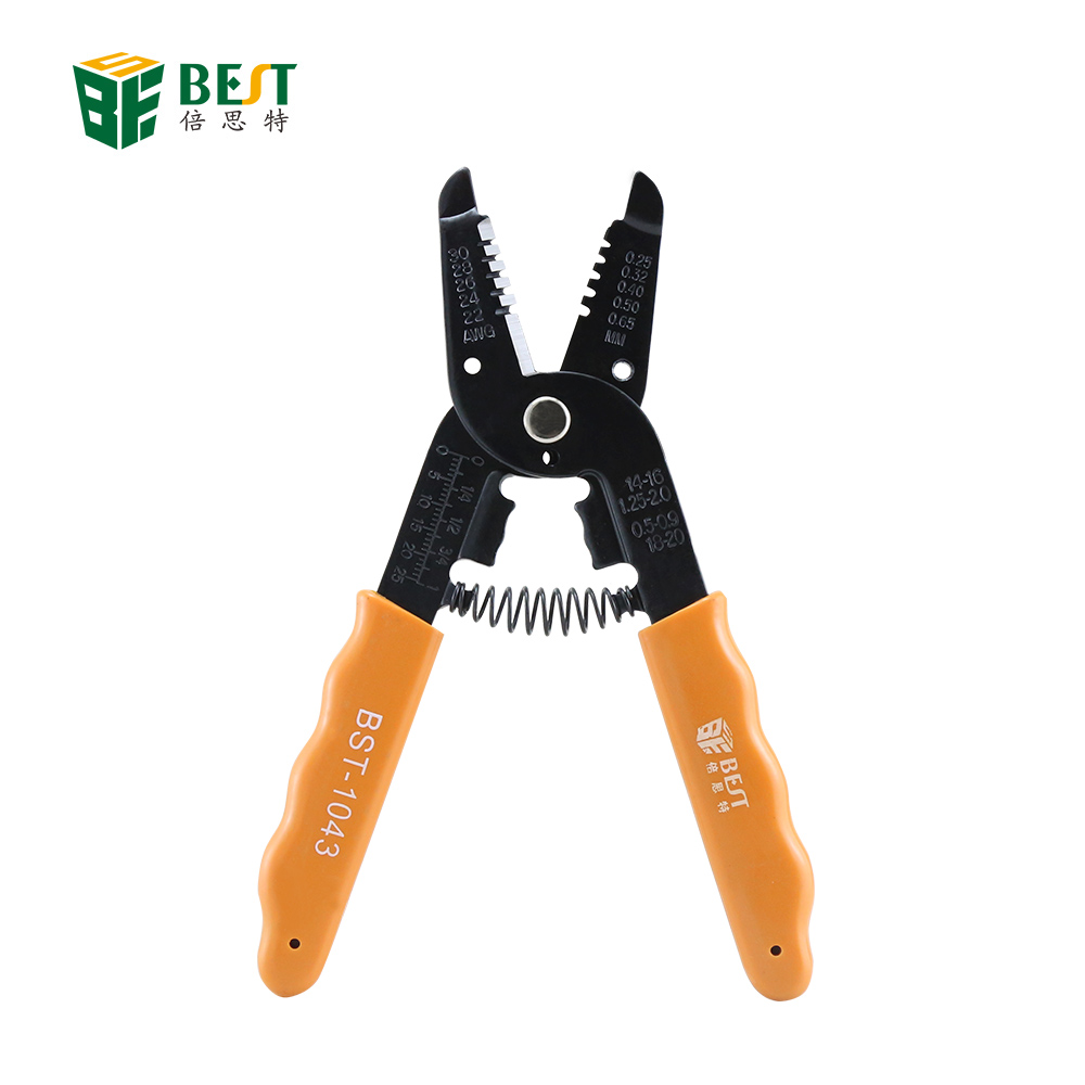 1PCS Professional Auto Wire Stripper Cutter Crimper Trimming Plier Electric Tool