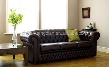 Inflatable Chesterfield Leather Sofa For Sale Hds1414 Buy Leather