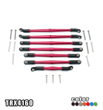 GPM ALUMINUM CHASSIS CROSSMEMBER-7PC SET RC CAR UPGRADE ACCESSORIES FOR TRAXXAS TRX4 DEFENDER