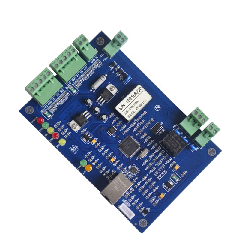 Supply Tcp/ip Network Entry Attendance Access Control Board Panel For 4 Door 4 Reader Access Control Kits
