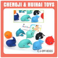 Buy desktop gift rubber whale bath toy grass head doll toy snare ...