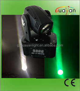Professional Stage Lighting 10W Quad Cree LEDs Disco/DJ Moving Head Beam