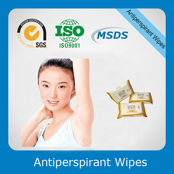 Antiperspirant Wet Wipe