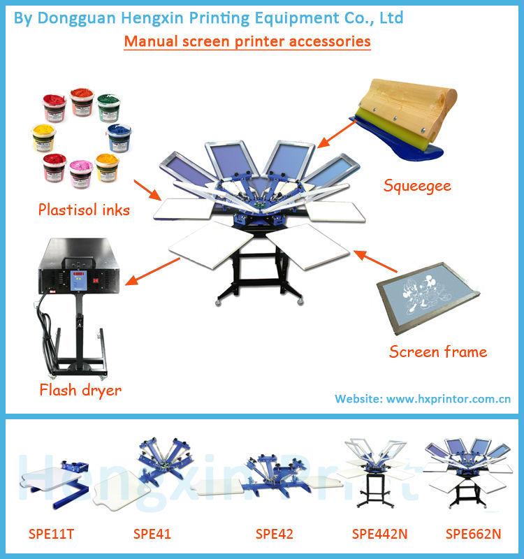 2 Colors Screen Printing Machine Manual For T Shirt Buy