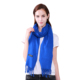 Fashionable winter large shawl blue 100% acrylic cashmere scarf