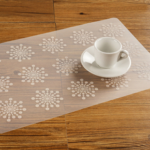 2017 Creative Custom plastic placemat Dining Insulation Heat Stain Resistant anti-skid eat mats in Room for Kitchen table