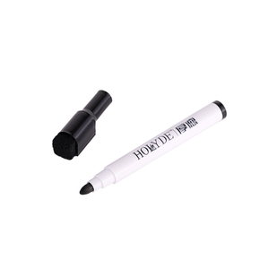 10mm White Board Empty Dry Erase Pens Whiteboard Marker Pen with Eraser