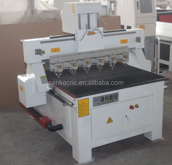 watch glass cutting machine/cnc glass cutting machine/multi spindle glass cutting machine with factory price from senke