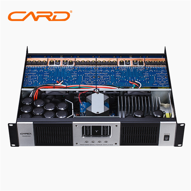CARD 2000 watts high power switching karaoke mixer audio digital+audio amplifier with usb