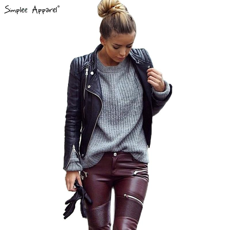 Sexy leather jackets for women on sale