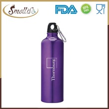 BPA free FDA passed aluminum drinking flip water bottle