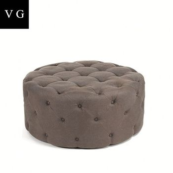 Cool Nightclub Round Waiting Room Button Tufted Pouf Fabric Ottoman Round Seat Stool Buy Fancy Stool Ottoman Knitted Ottoman Stool Upholstered Stool Machost Co Dining Chair Design Ideas Machostcouk
