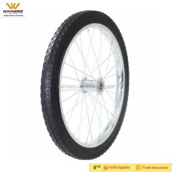 Delicieux 20 Inch Solid Polyurethane Garden Cart Wheel