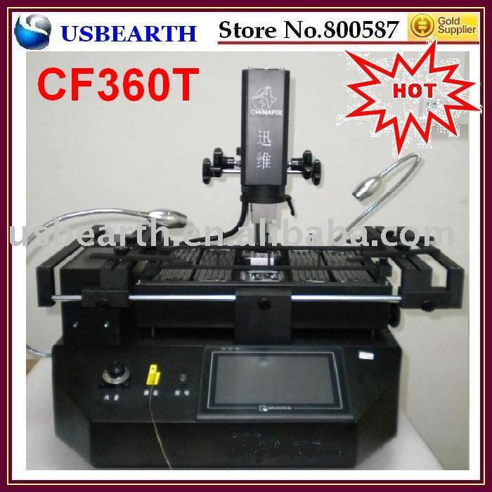 CF 360 BGA rework station, repair system, touch screen + PLC high-precision temperature controller
