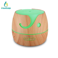 400ml Water Capacity Plug-in Fragrance Aroma Diffuser night lamp air humidifier misting With 16 Led Lights,timer