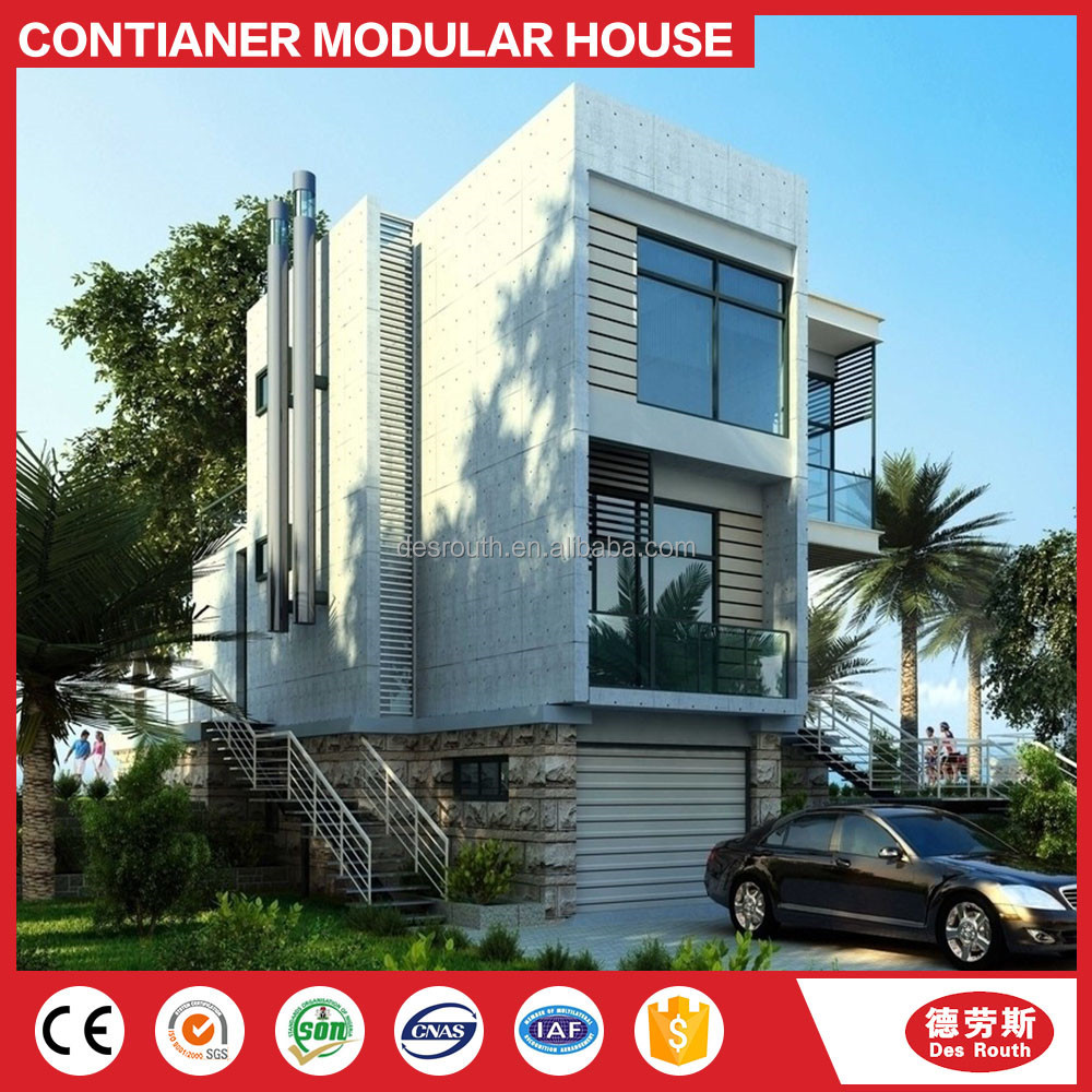Moderne mobiele inklapbare container container huis villa for Mobiele huizen