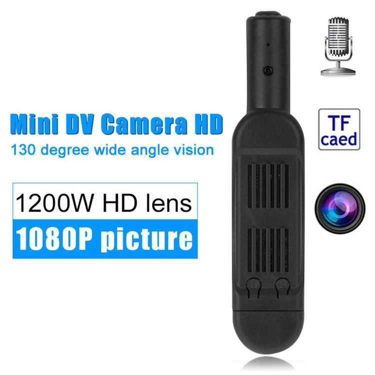 T189 Mini Kamera Full HD 1080 P Kamera Rahasia Wearable Kecil Pena Kamera
