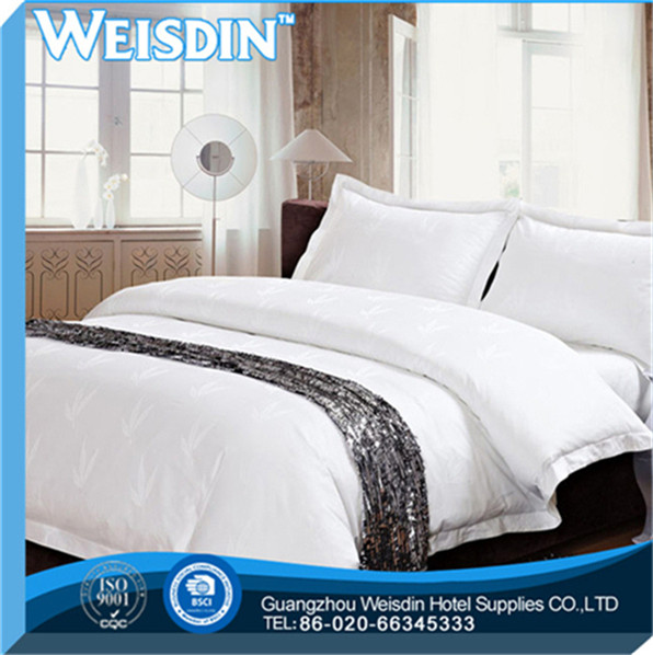 king bed made in China plaid bedding/embroider/duvet cover/bedspread/pillowcase
