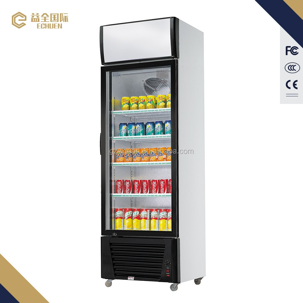 1580l Glass Refrigerators Beverage Showcase Freezer 3