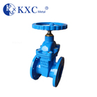 Cast iron BS 5163 non-rising stem screw-in bonnet resilient wedge gate valve
