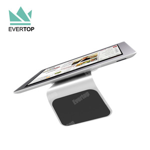 TS-LNS01 2017 Magical anti gravity Nano suction sticker holder stand for iPad tablet PC