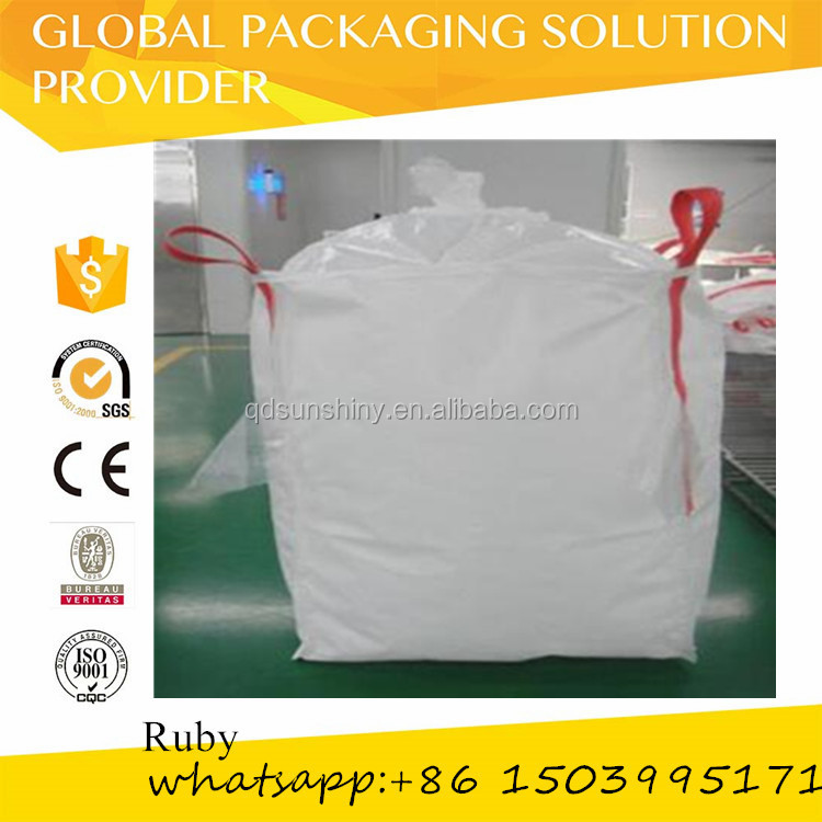 1 ton flexible jumbo bag for packing rice with UV treated any color